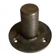 Закладной элемент с фланцем для стойки Ø38